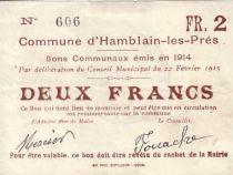 France 2 F Hamblain les Prés