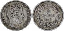 France 2 Franc Louis-Philippe 1847 A Paris Silver
