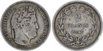 France 2 Franc Louis-Philippe 1847 A Paris Silver