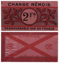 France 2 Francs - Reims - AU