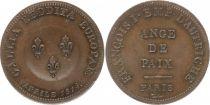 France 2 Francs (Module), Ange de Paix - 1814 Essai de Tiolier