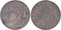 France 2 Francs, Napoleon III - 1866 BB