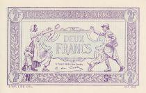France 2 Francs  Trésorerie aux armées  - 1917  Epreuve