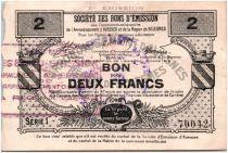 France 2 Francs Avesnes Et Solesmes Villers Outréaux