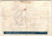 France 2 Francs Bauvin Commune - 1915