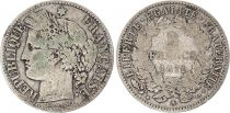 France 2 Francs Ceres - 1871 A Paris Small A