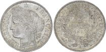 France 2 Francs Ceres - 1887 A Paris Silver - XF - KM.817