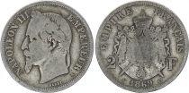 France 2 Francs Ceres - Gouvernement National - 1869 A Paris A