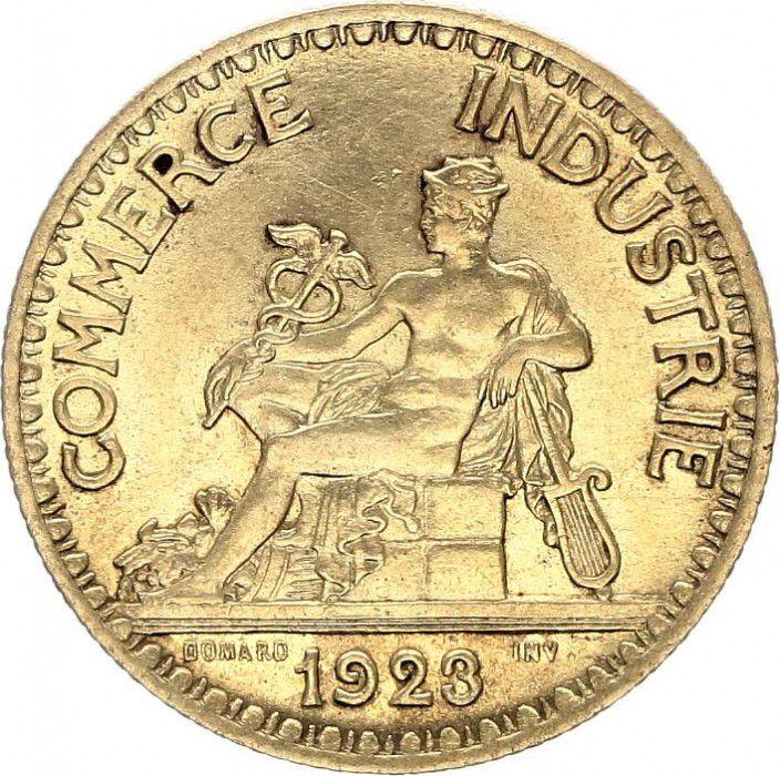 Pi ce france 2 francs chambre de commerce 1923 - Chambre des commerces strasbourg ...