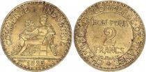 France 2 Francs Chambre de Commerce -1925