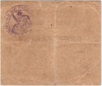 France 2 Francs Coutiches City - 1915