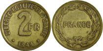 France 2 Francs France Libre - Philadelphie 1944