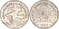 France 2 Francs Jean Moulin - 1993