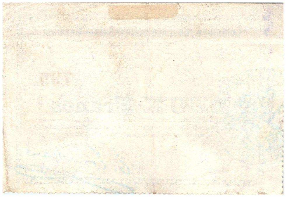 France 2 Francs Lesquielles-Saint-Germain City - 1915