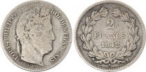 France 2 Francs Louis-Philippe 1er - 1842 K Bordeaux