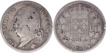 France 2 Francs Louis XVIII - 1823 W Lille