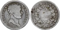 France 2 Francs Napoléon I - 1809 A Paris - Silver