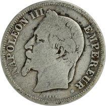 France 2 Francs Napoléon III - Armoiries 1866-1870
