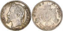 France 2 Francs Napoléon III - Arms 1868 A