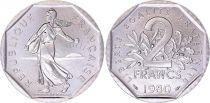 France 2 Francs Seed sower - 1980 UNC