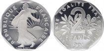 France 2 Francs Seed sower - 1991 - Proof