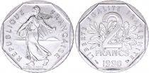 France 2 Francs Seed sower - 1998 AU
