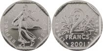 France 2 Francs Seed Sower - 2001 BU