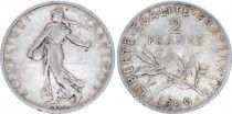 France 2 Francs Semeuse - 1899