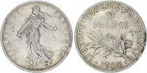 France 2 Francs Semeuse - 1900 - Silver