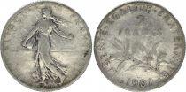 France 2 Francs Semeuse - 1901