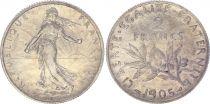France 2 Francs Semeuse - 1905