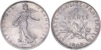 France 2 Francs Semeuse - 1909