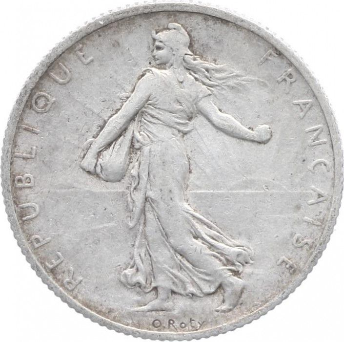 France 2 Francs Semeuse - 1910