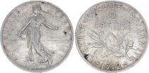 France 2 Francs Semeuse - 1912