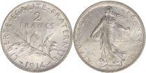 France 2 Francs Semeuse - 1914
