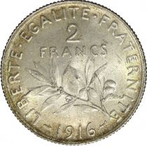 France 2 Francs Semeuse - 1916