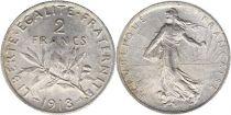 France 2 Francs Semeuse - 1918