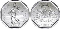 France 2 Francs Semeuse - 1983 FDC - Issu de coffret