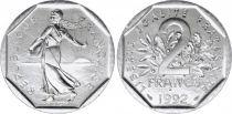 France 2 Francs Semeuse - 1992 frappe monnaie FDC