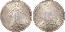 France 2 Francs Semeuse -1914 C - PCGS MS 63