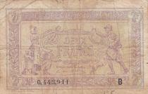 France 2 Francs Trésorerie aux armées - 1917 - B 0.443.911 - TB