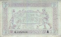 France 2 Francs Trésorerie aux armées - 1917 A 0.555.044