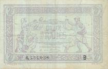 France 2 Francs Trésorerie aux armées - 1917 B 0.534.058