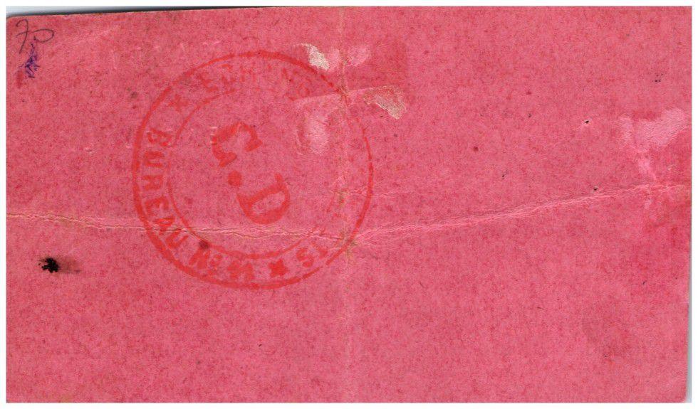 France 2 Francs Vendeuil City - 1914 - 1915