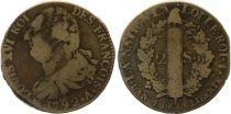 France 2 Sols - Louis XVI - Roi des François - 1792 A