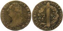 France 2 Sols - Louis XVI - Roi des François - 1792 W Lille - 2ème semestre