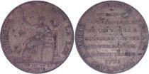 France 2 Sols, Constitution - A la liberté An III -1791