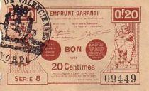 France 20 cent. Valenciennes