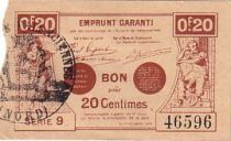 France 20 cent. Valenciennes