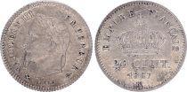 France 20 centimes, Napoleon III - 1867 K Bordeaux
